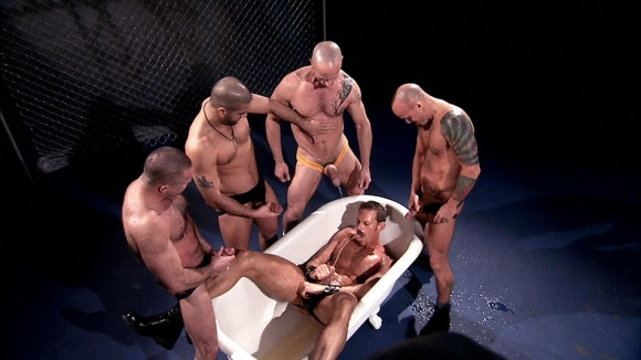 Fist and Piss: Chase Alters, Clay Donovan, Colin Steele, Peter Axel, Tony Buff