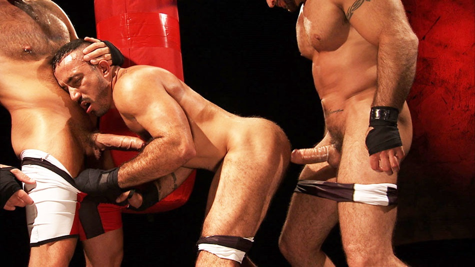 Full Fetish: Spencer Reed, Alessio Romero, and Lance Navarro