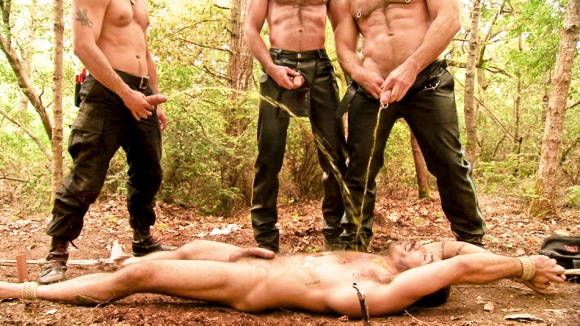 Bound and Beaten: Alessio Romero, Tony Buff & Trey Walker
