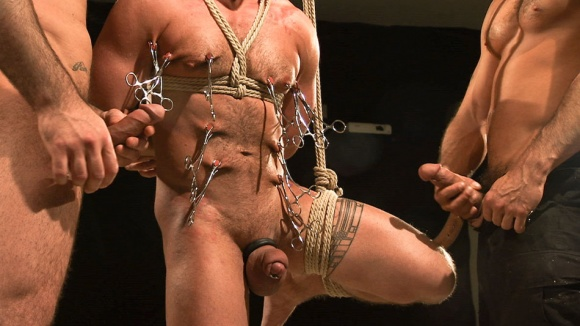 Bound, Flogged, Fisted: Cullen Cable, Spencer Reed & Tony Buff